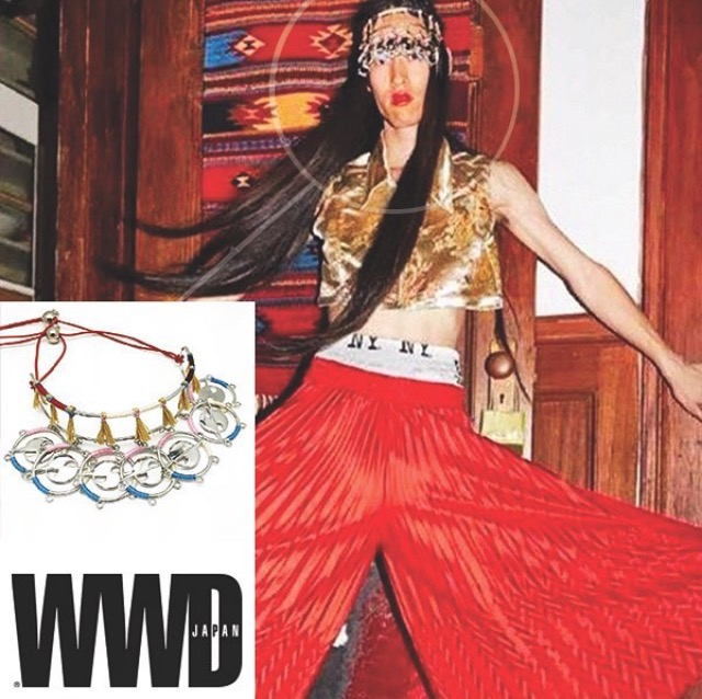 WWD JAPAN  GYPSY SPORT SS '16 EDITORIAL   SINGLE ORBIT HATURN ORBIT HEADBAND  NOVEMBER 2015