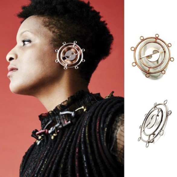 Chrishabana for Gypsy Sport DUAL ORBITAL HATURN EARCUFF FOR ADESUWA album art