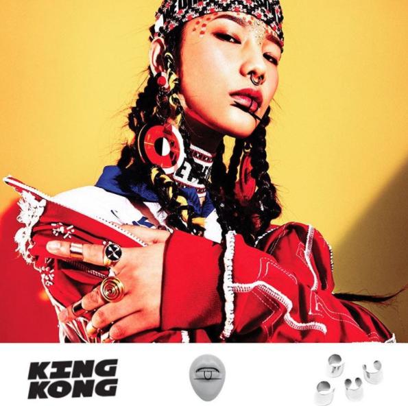 My Enemy BULLETPROOF FINGERTIP RING from KING KONG MAGAZINE