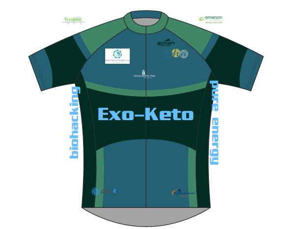 The Exo-Keto team jersey is in the works.... Know a cyclist? Tell them about us. : )