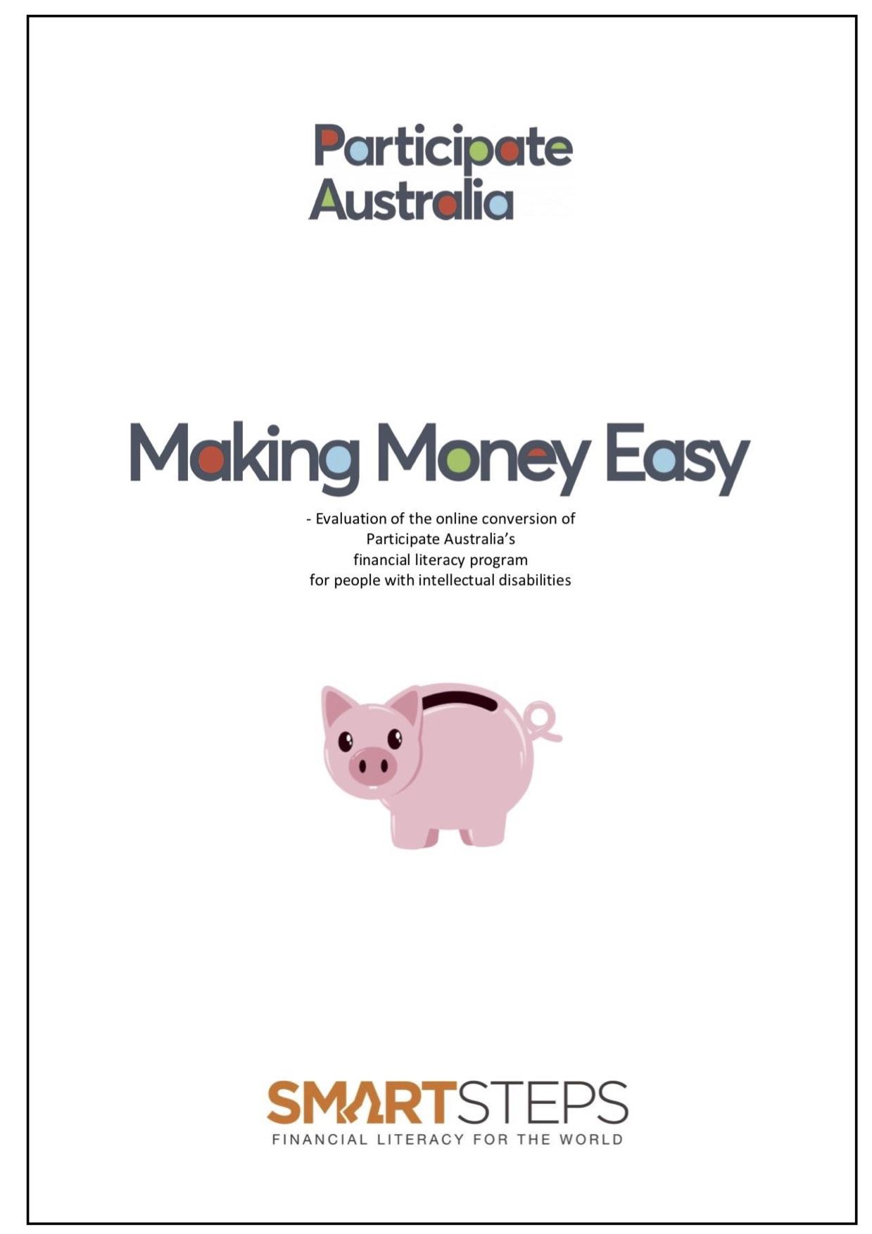 Evaluation of Making Money Easy - cover 2.jpg