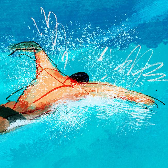 Ivan BussensAward for Water Polo - Chris Storey