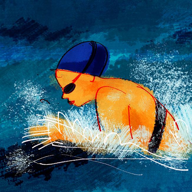 Open Water SwimmersOf The Year - Gosia MurakowskaRick Snow