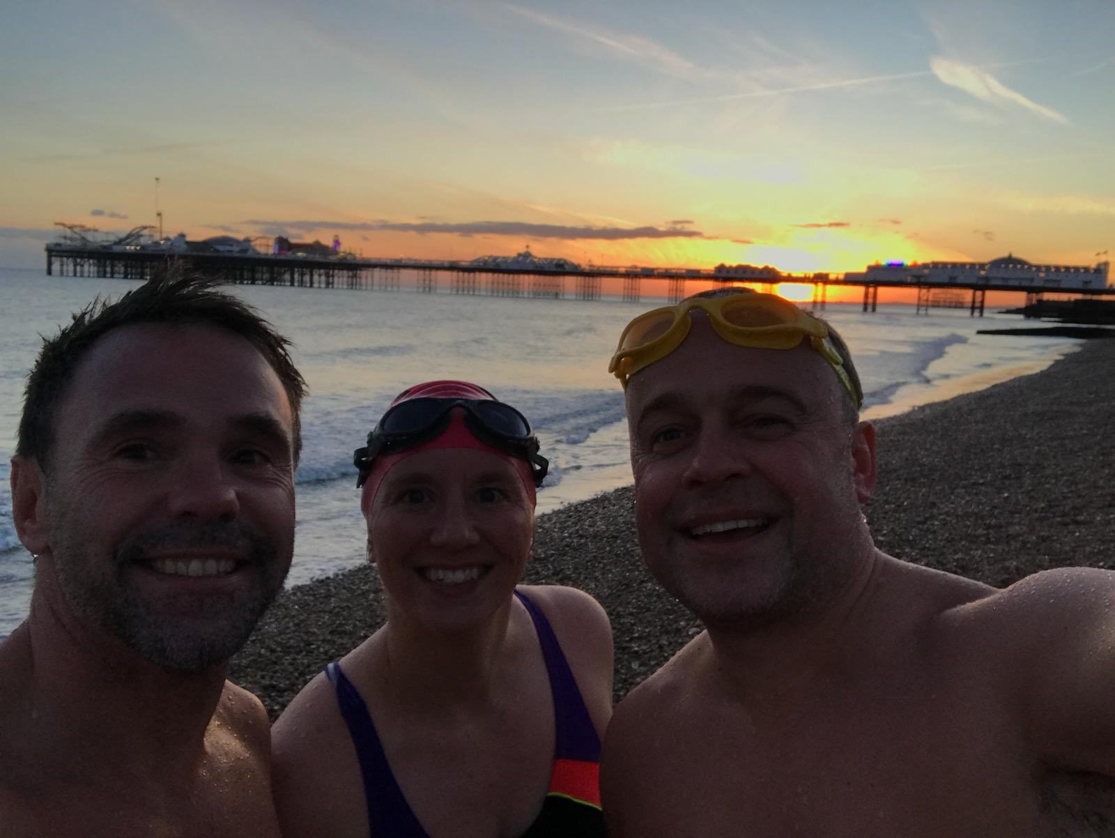 Final sea swim of 2018