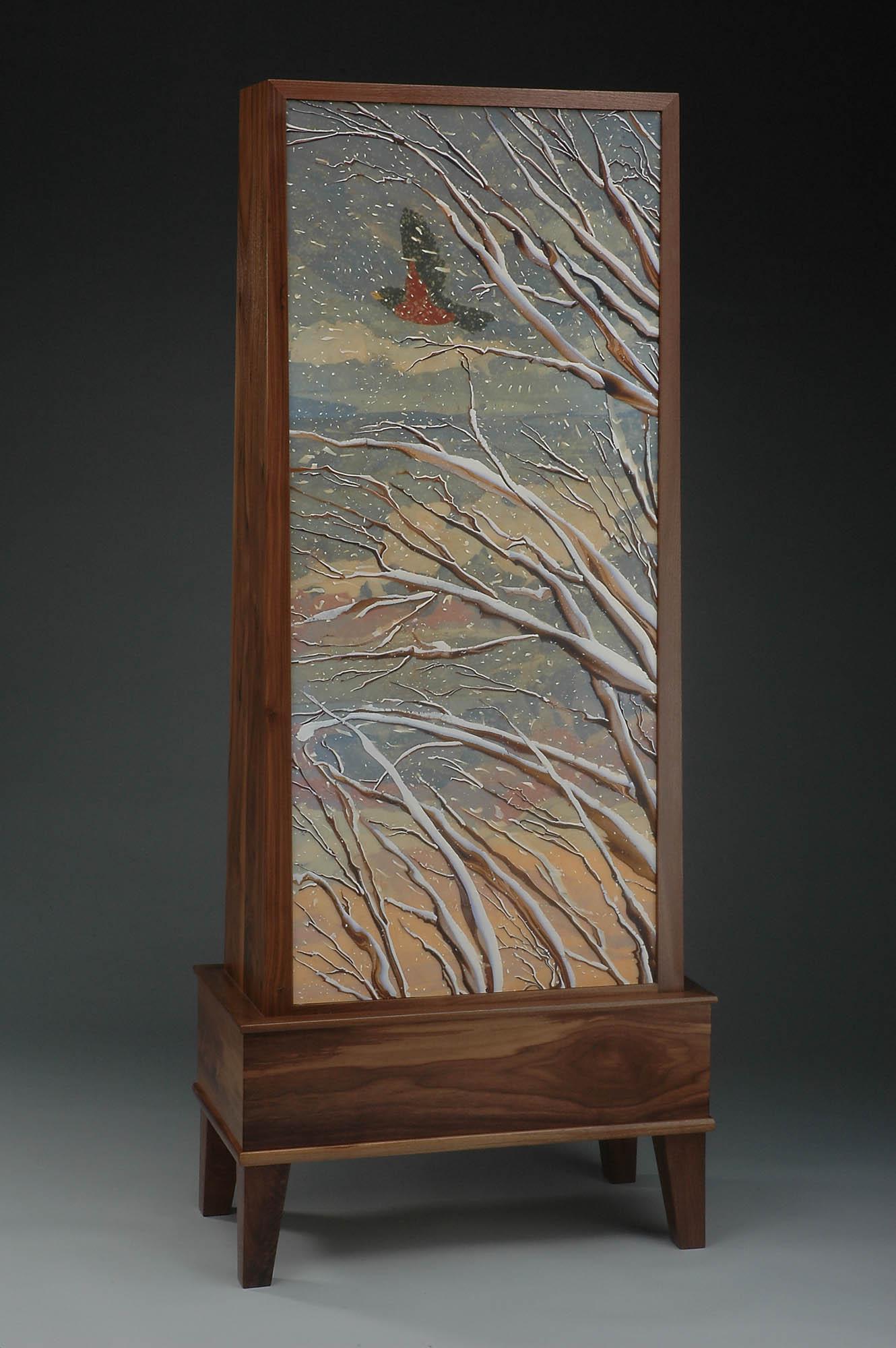 begin - winter, memory cabinet