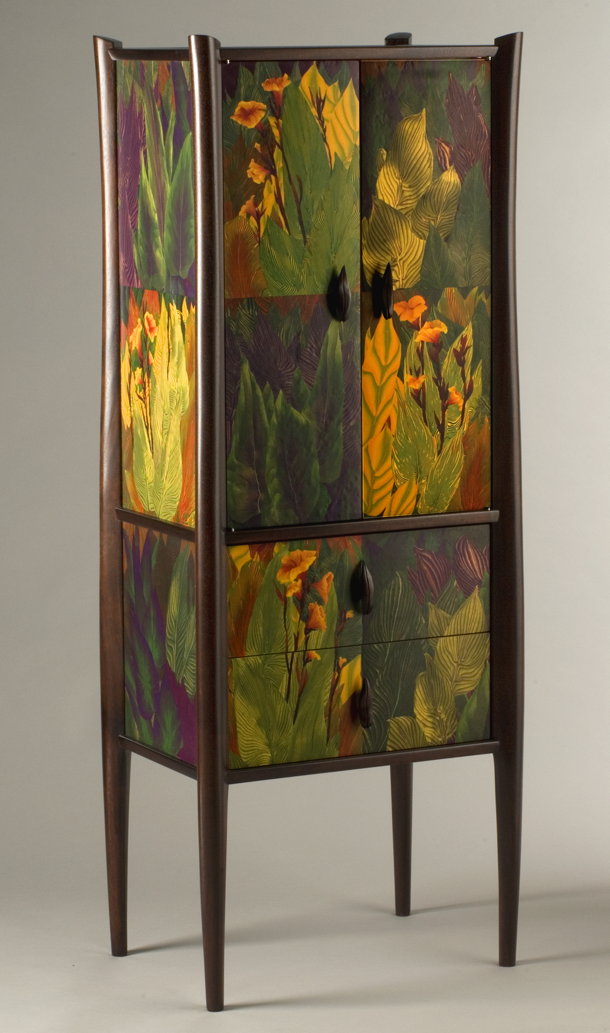 canna lily cabinet