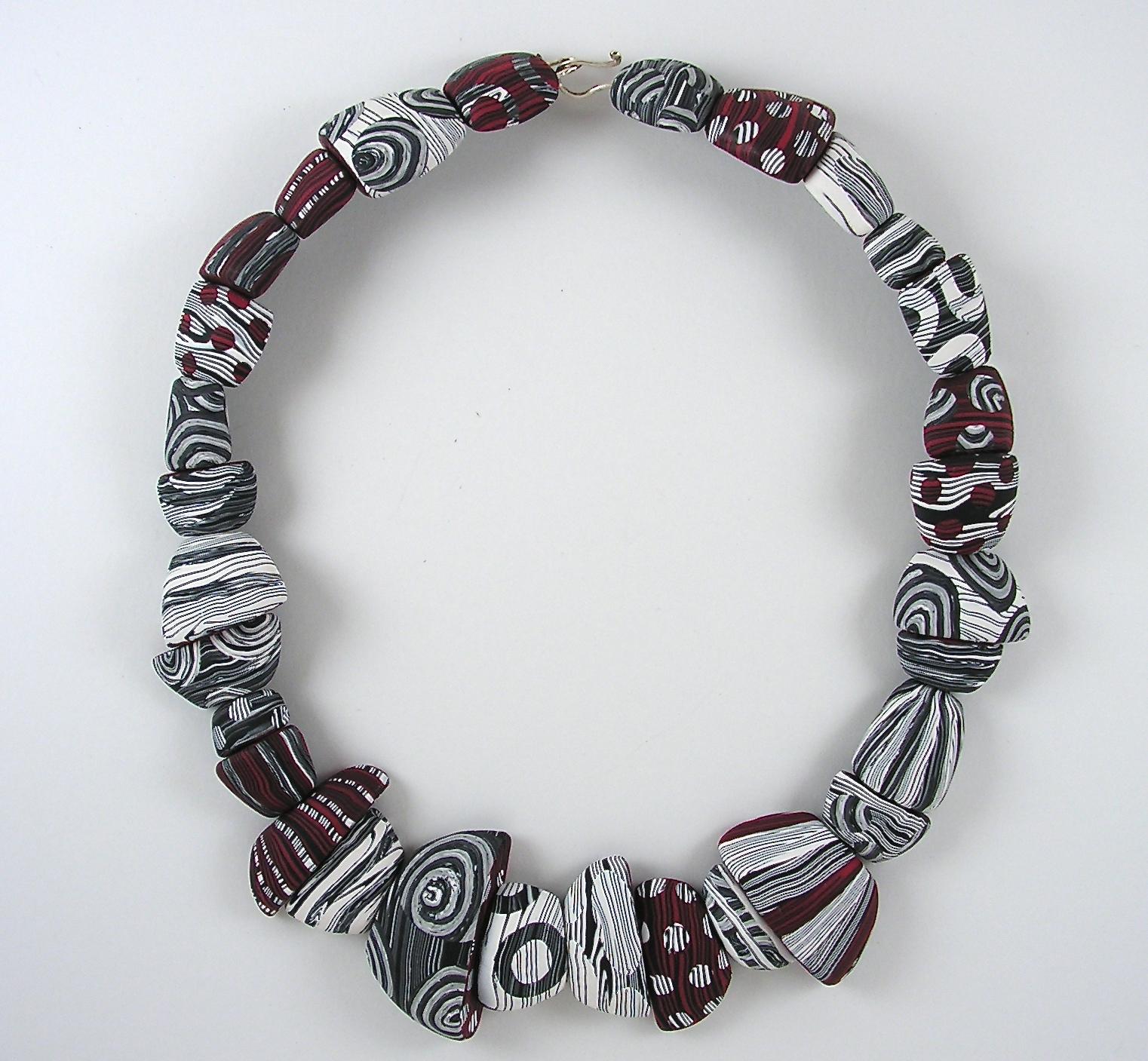 Woodblock Necklace