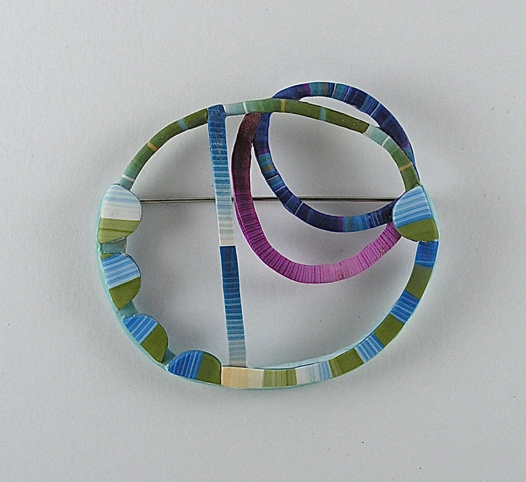 Blue Wire Line Pin
