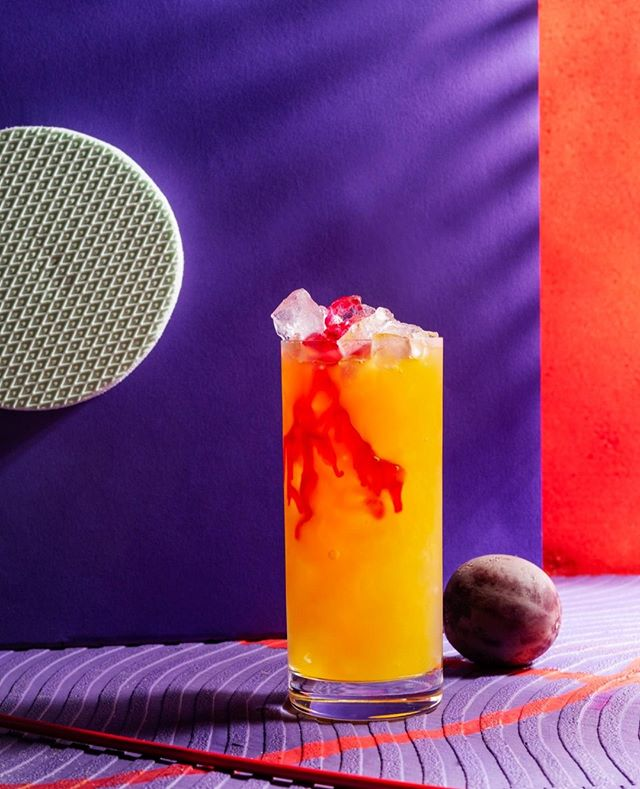 """Game, Set, Splash - that's the spirit behind our passion fruit cocktail """"Maracuja Splash"""". An old backyard somewhere in the Hollywood Hills, an nearly empty pool and an old tennis pro thinking about better times. Well, have drink and rock-on! Find the whole story about this fruity and delicious summerdrink soon on our blog.  Crushed Ice 50 ml local Vodka 10 ml  freshly squeezed lime juice Organic passion fruit juice  A splash of organic grenadine  #mixology #barcatering #instadrinks #instacocktails #drinkoftheday #craftspirits #cocktailhour #cocktailart #hollywoodhills  #passionfruit #catering #berlinbars #berlindrinks  #summerdrinks #sektgar #cocktail #mixologist #drinkporn #berlinfood #cocktails #vodkacocktail #abymewodka ##sektgarsummerdrinks #sektgar #sektgarevents #liquid_community #foodstyling #drinkstyling """