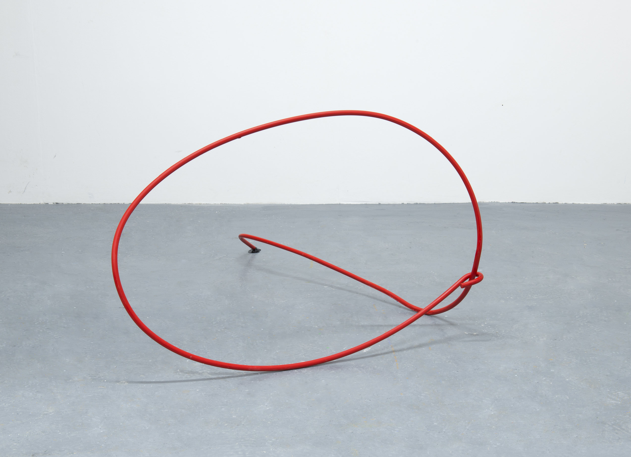 Round and about, 2019   Cast polyurethane resin, plastic wrap 115 x 84 x 57cms