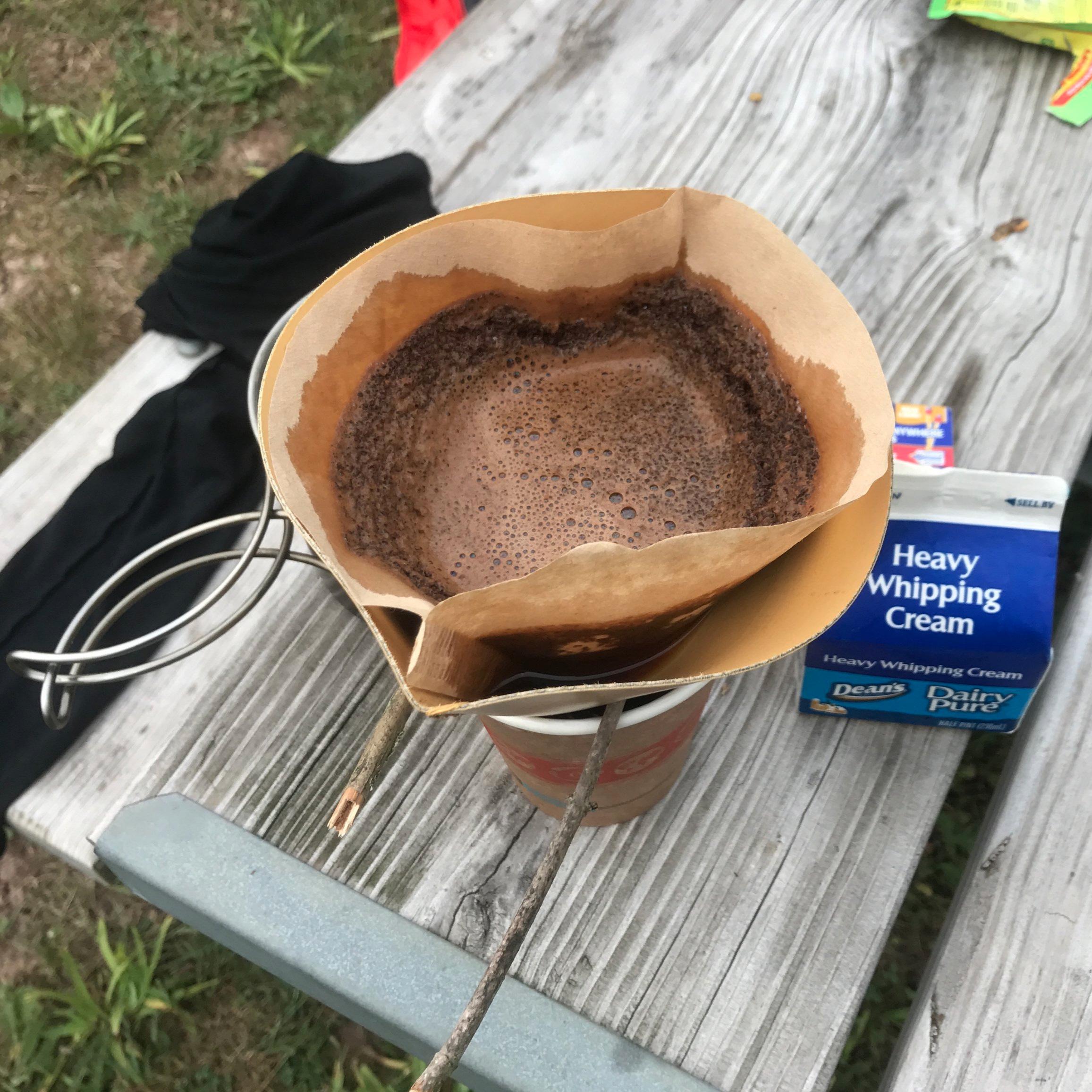 Pour-over coffee a'la Ortlieb