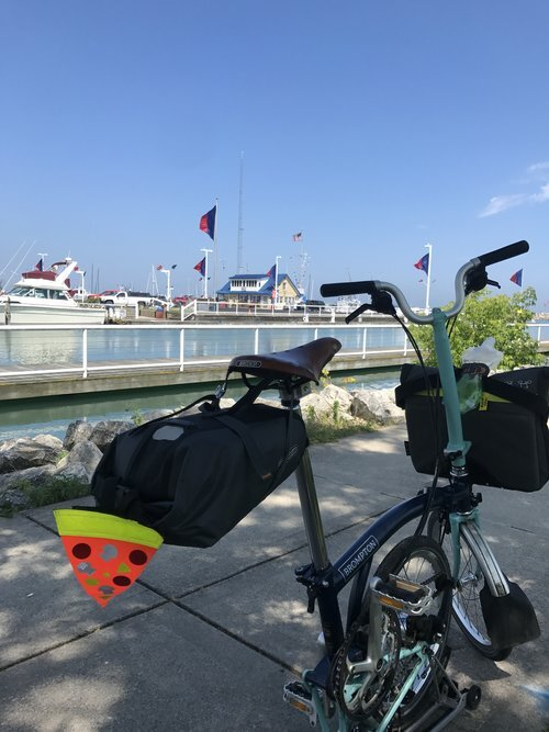 My favorite escape vehicle: Brompton.