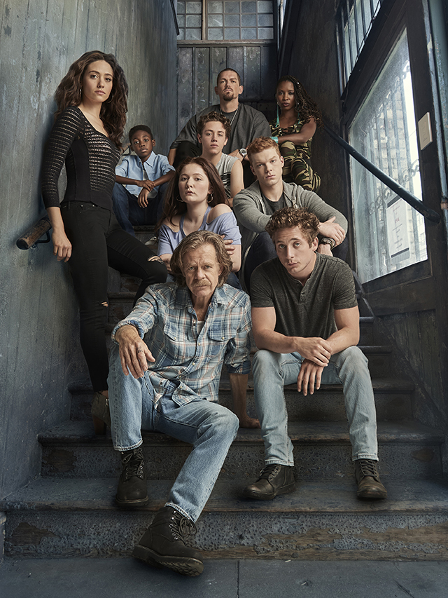 I was asked to digitally remove Svetlana from this gallery shot that was originally from Season 8. This reworked piece was eventually used as interim key art for Shameless' Season 9, along with quite a few promotional graphics!