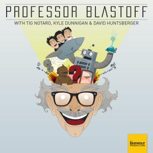 Professor Blastoff logo