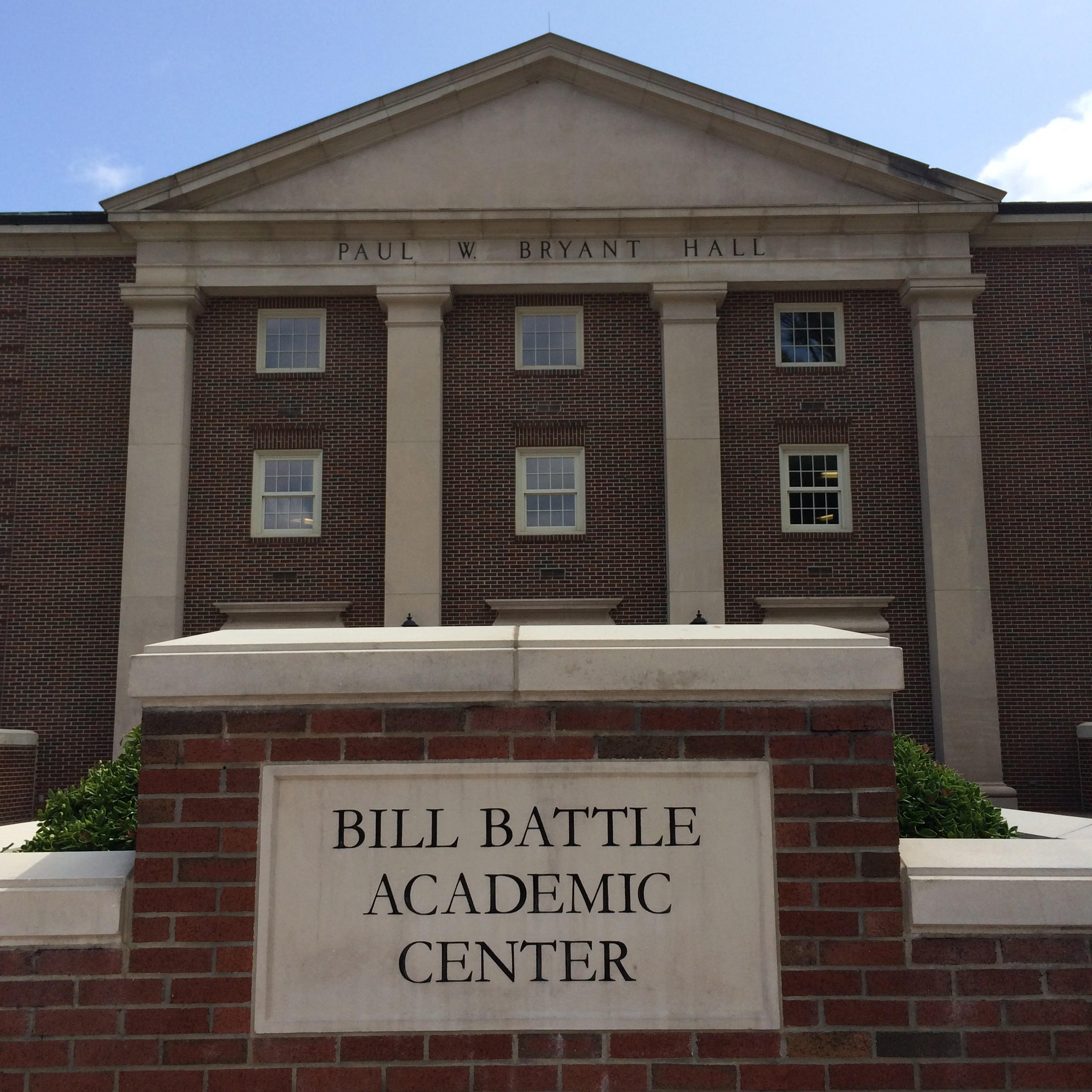 University of Alabama's Bill battle Academic Center