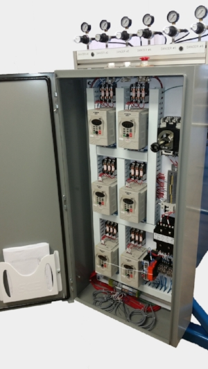 Control Panel for 6 Head Power-Payoff