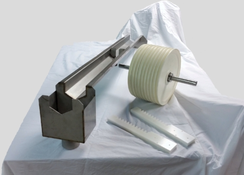 Retro fit cooling trough for wire insulating line