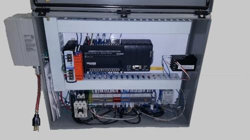 Heat Stake Control Panel