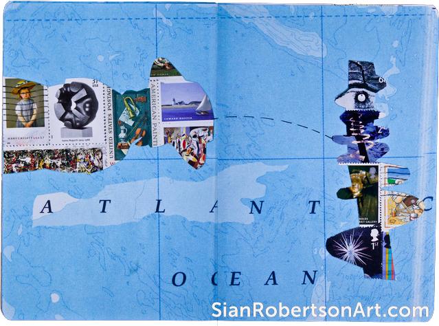 Transatlantic (2012) Sketchbook Project
