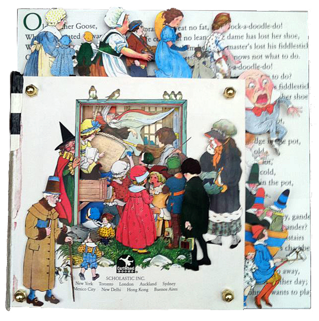 Altered Book: The Real Mother Goose (2012)