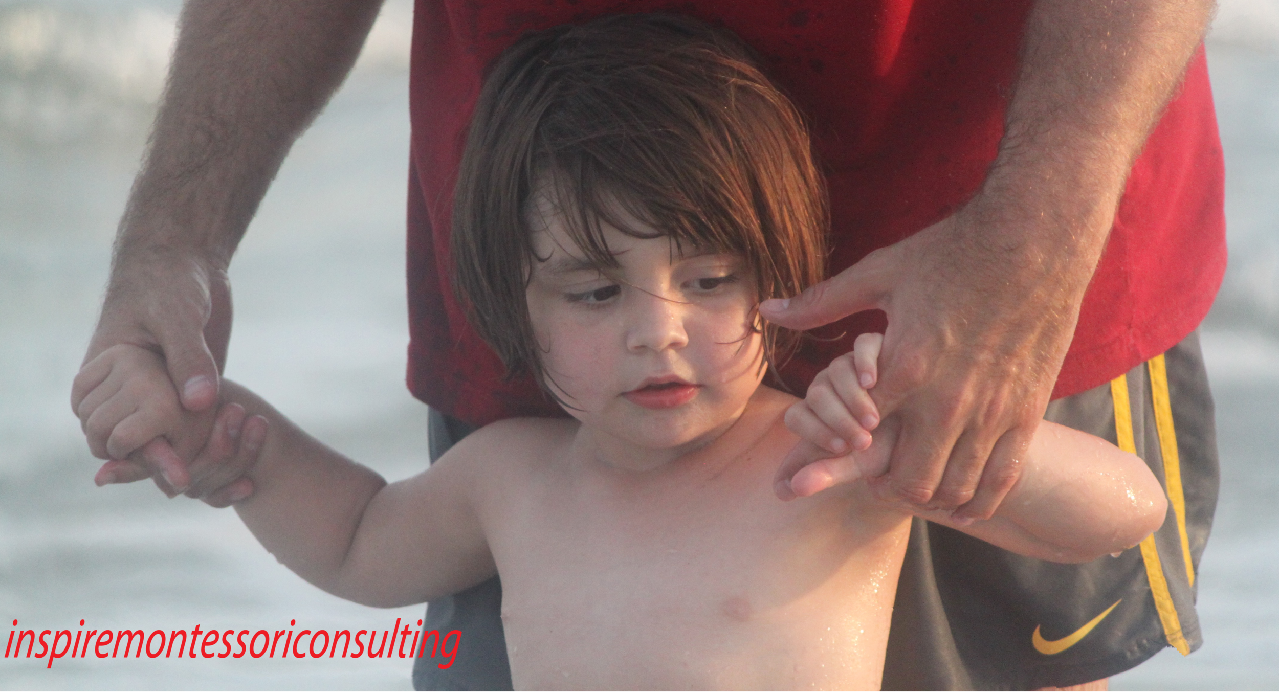 """""""The child builds his inmost self out of deeply held impressions he receives"""" -Maria Montessori"""