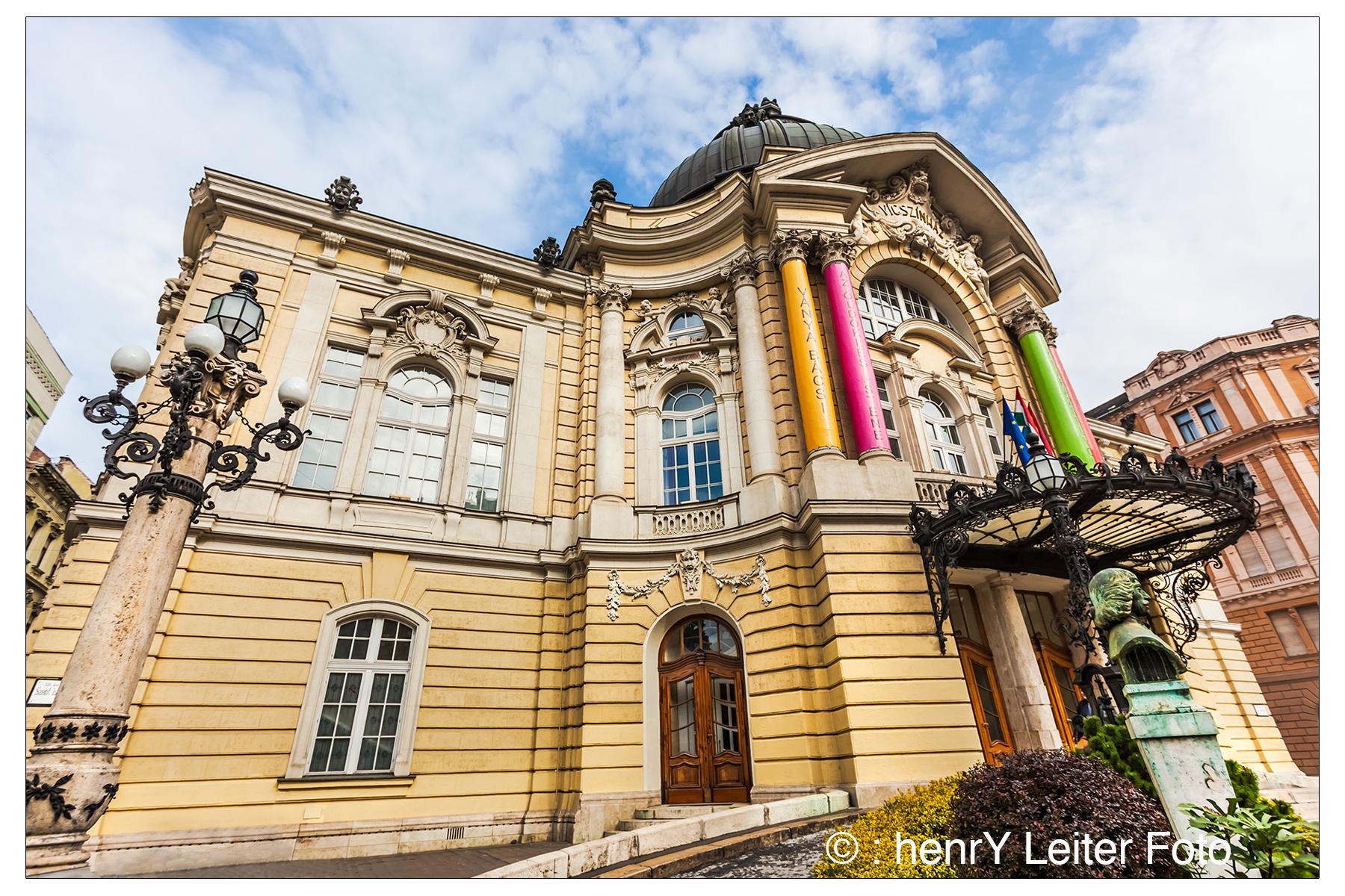 Vígszínház - or Comedy Theatre in Budapest, Hungary