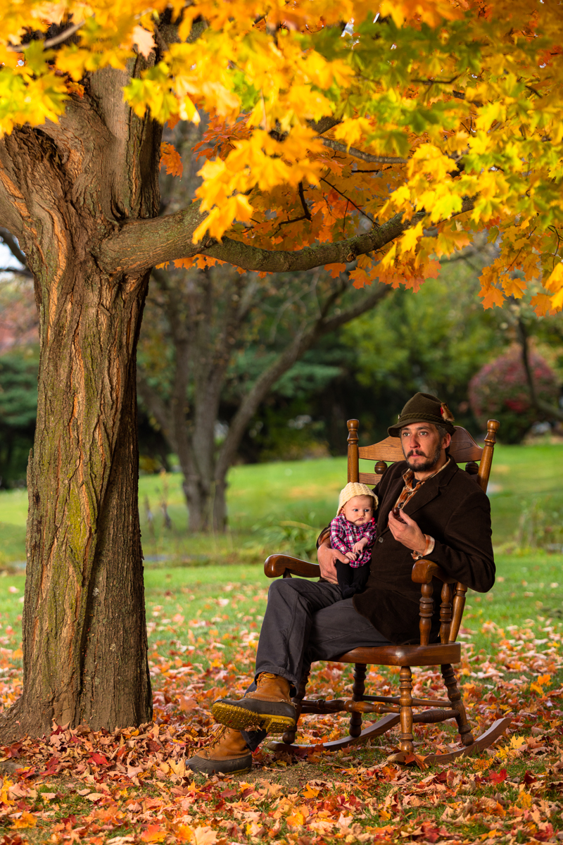 Self portrait with my beautiful daughter Beatrice Acadia, Autumn 2015.