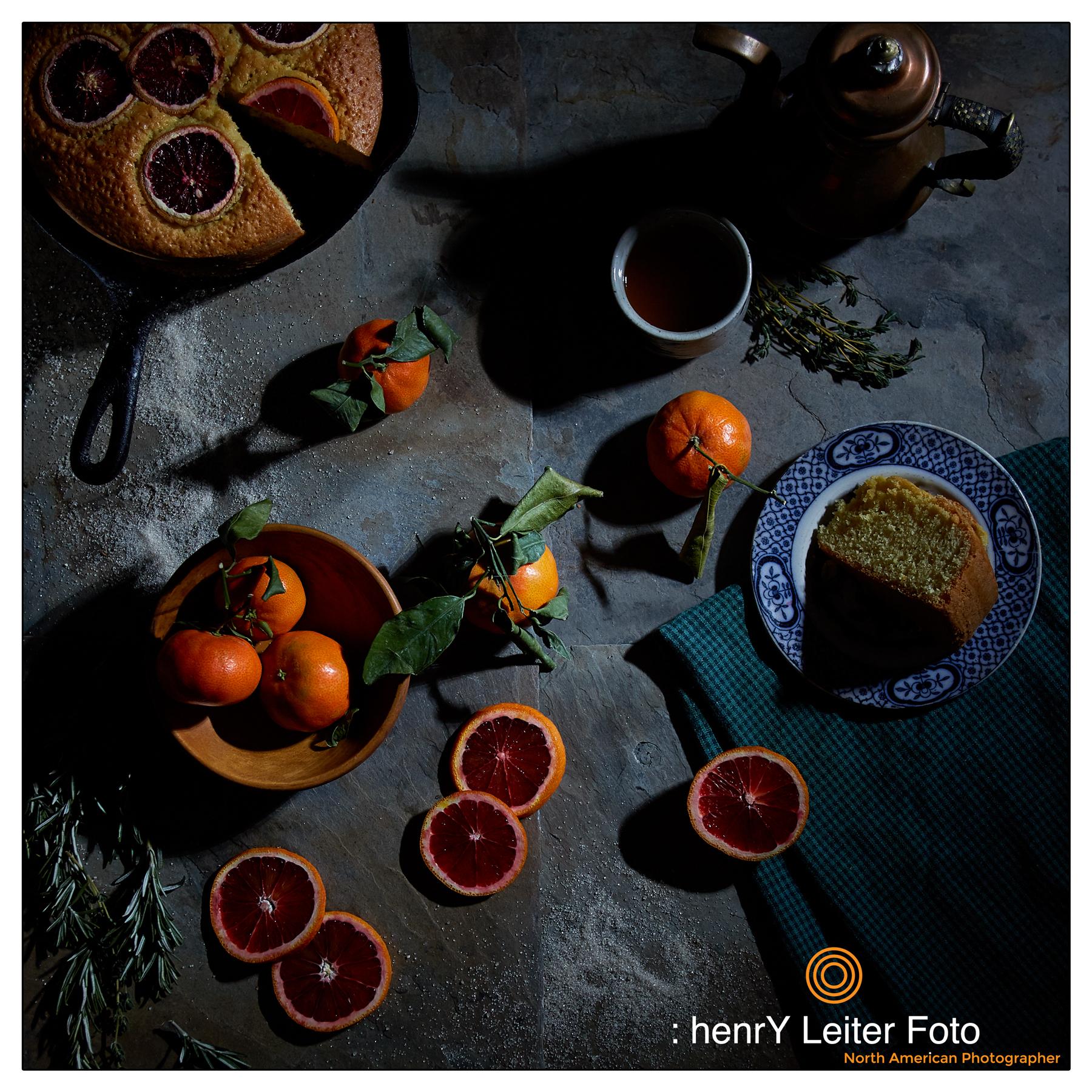 Blood Orange Olive Oil Cake