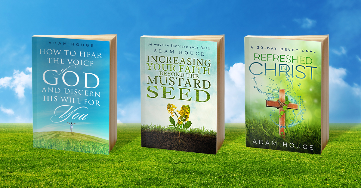 "These titles have over 1/4 million sold. ""Refreshed in Christ: a 30 day devotional"" is offered exclusively to new signups."
