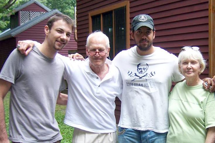 Paul Newman, David Blaine, and Joanne Woodward
