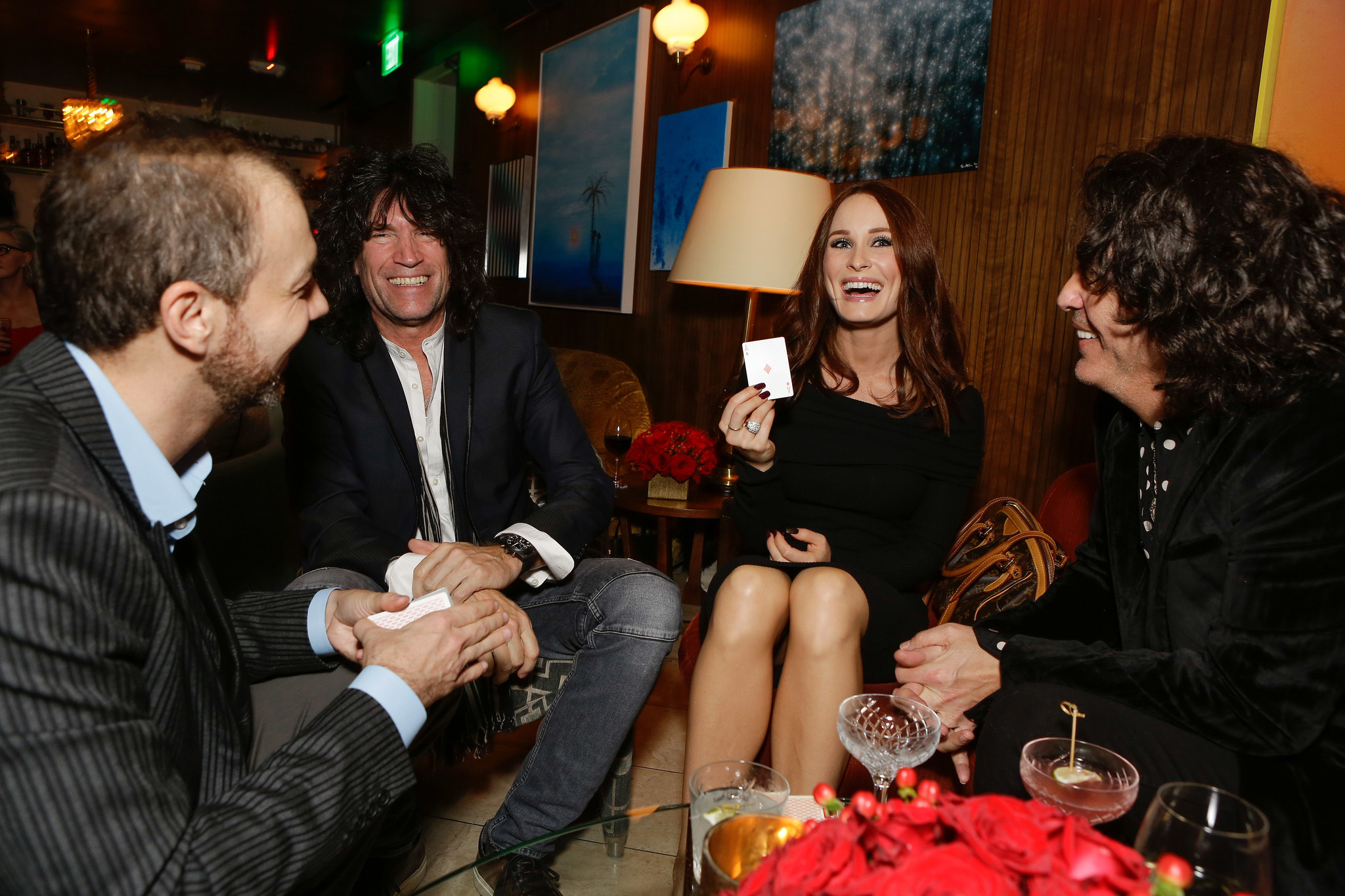 Paul Stanley and Tommy Thayer (KISS)
