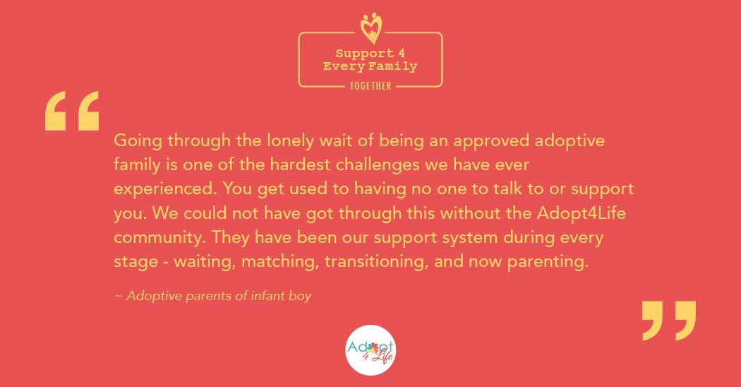~ Adoptive parents of infant boy