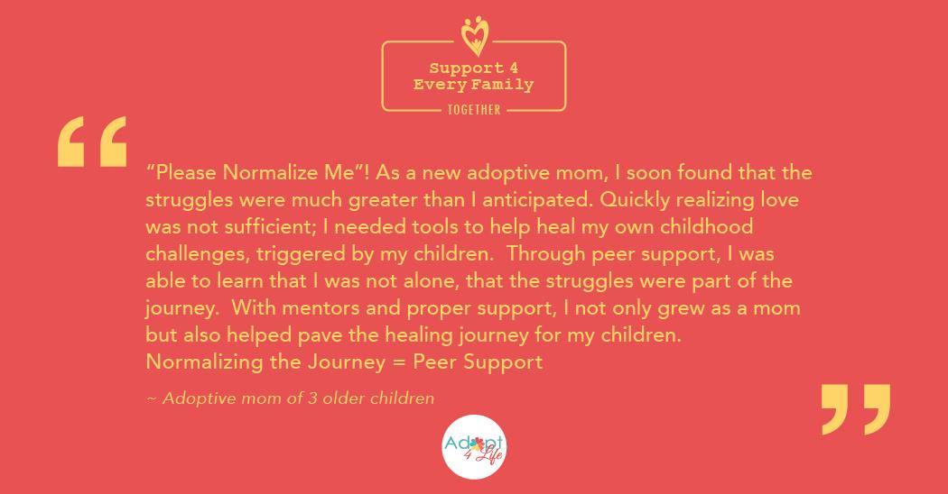 ~ Adoptive mom of 3 older children