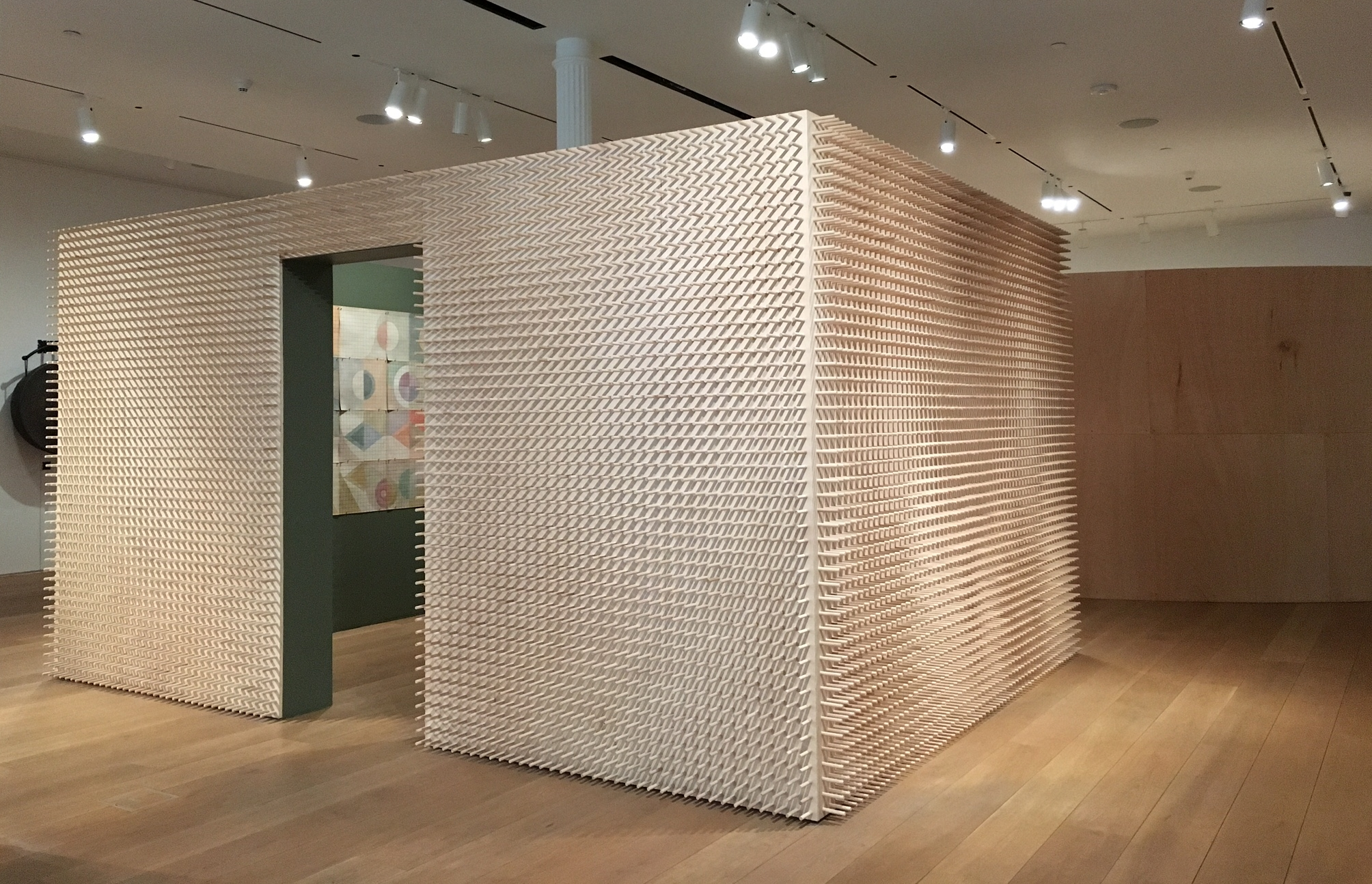 Energy Scaffolds and Information Architecture, The Drawing Center, NYC.