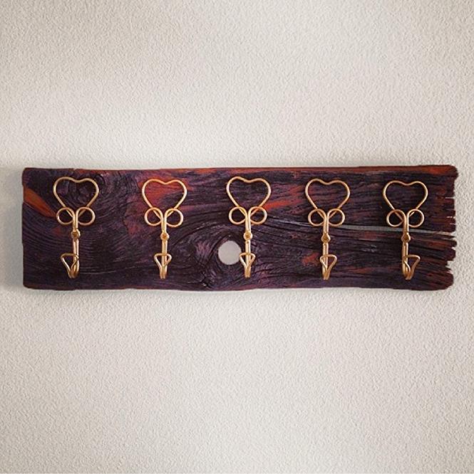Heart Key Hooks