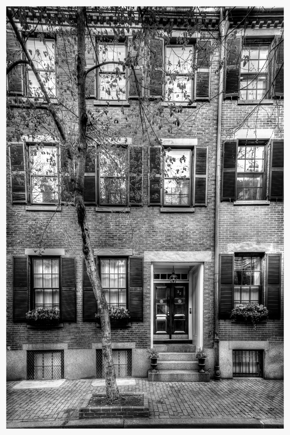 Beacon Hill - Black and White
