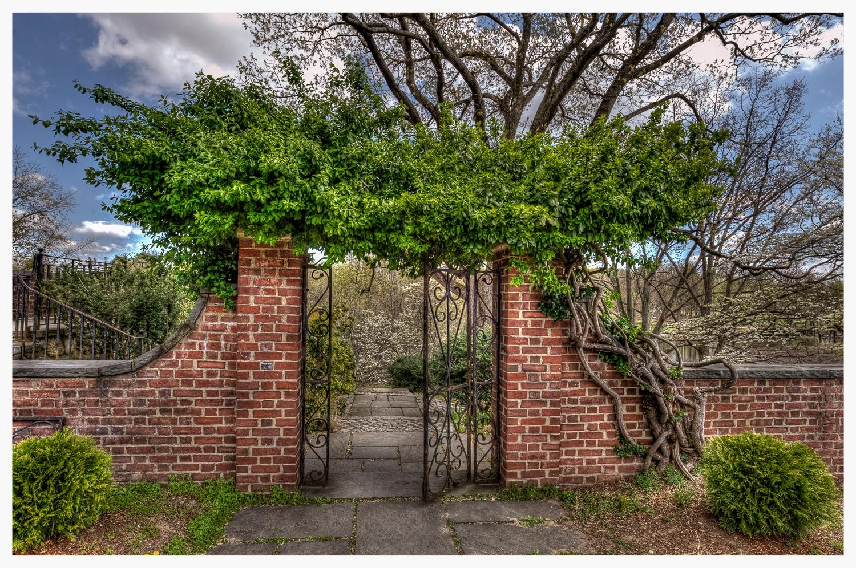 English Garden at the Old North Bridge - 04.21.12