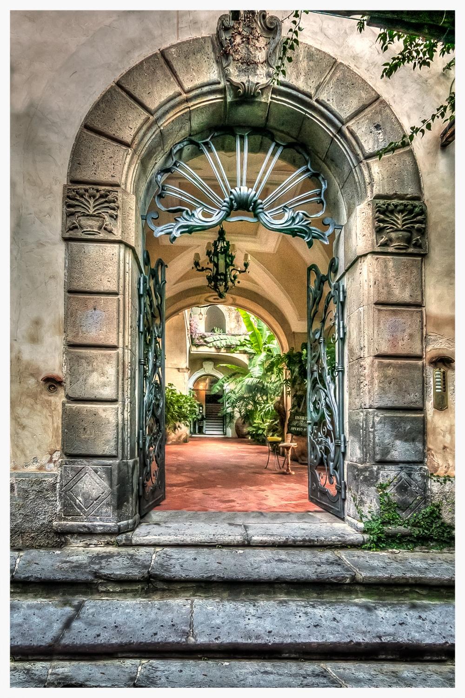 Amalfi Coast Doorway