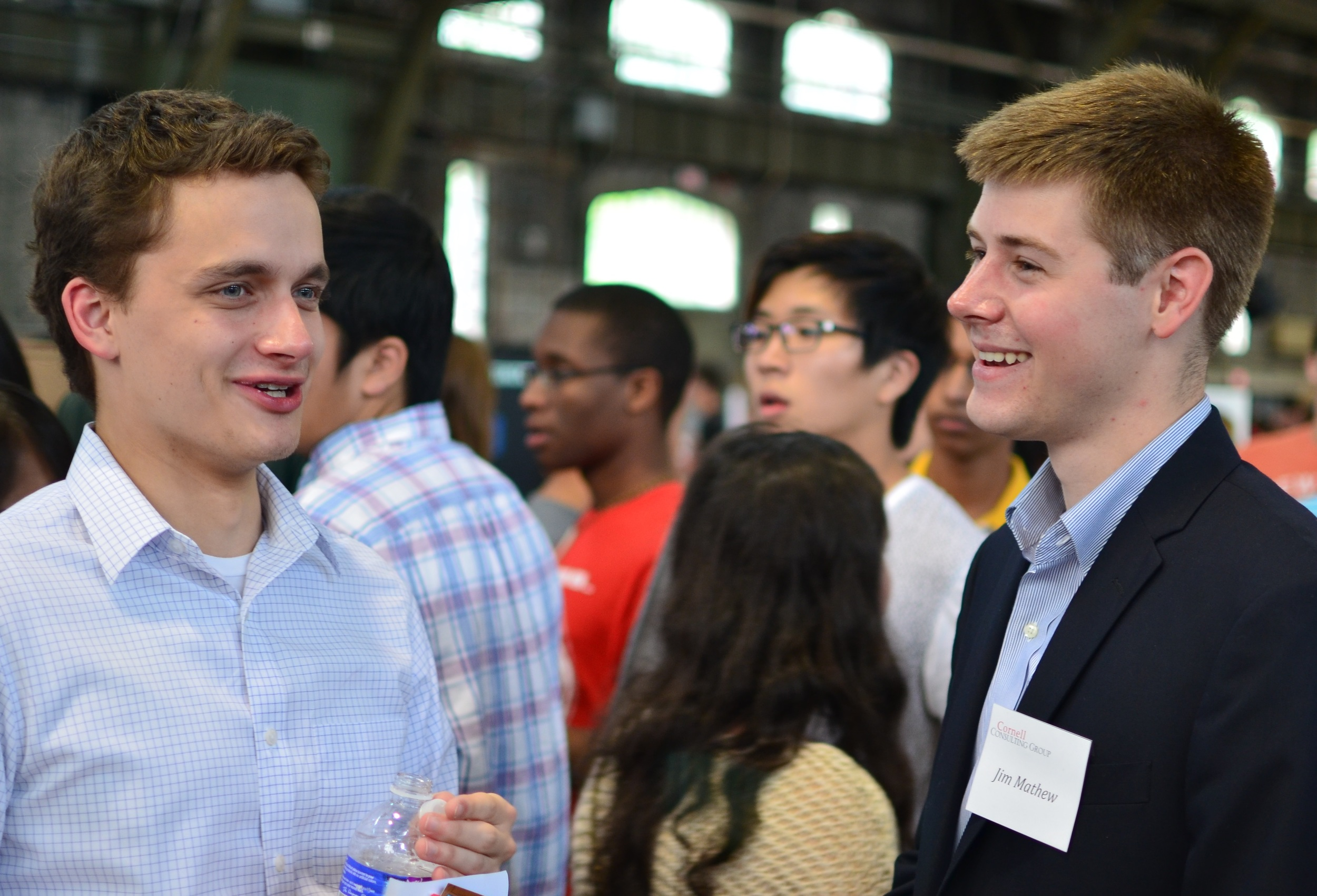 CCG fosters a strong network of peers and mentors on Cornell's campus and beyond.