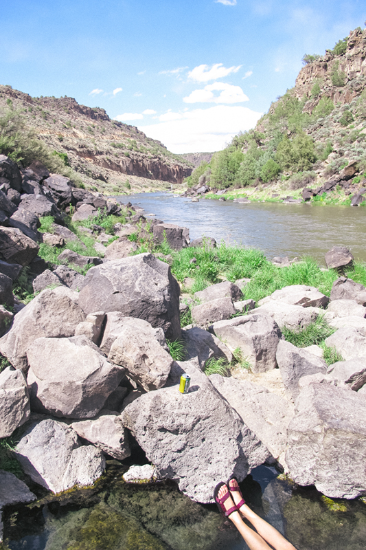 Once Jim decided he was pruned up to his liking, he left us there along the Rio Grande with the hot springs to ourselves and with plenty to laugh about. Sweet Jim....