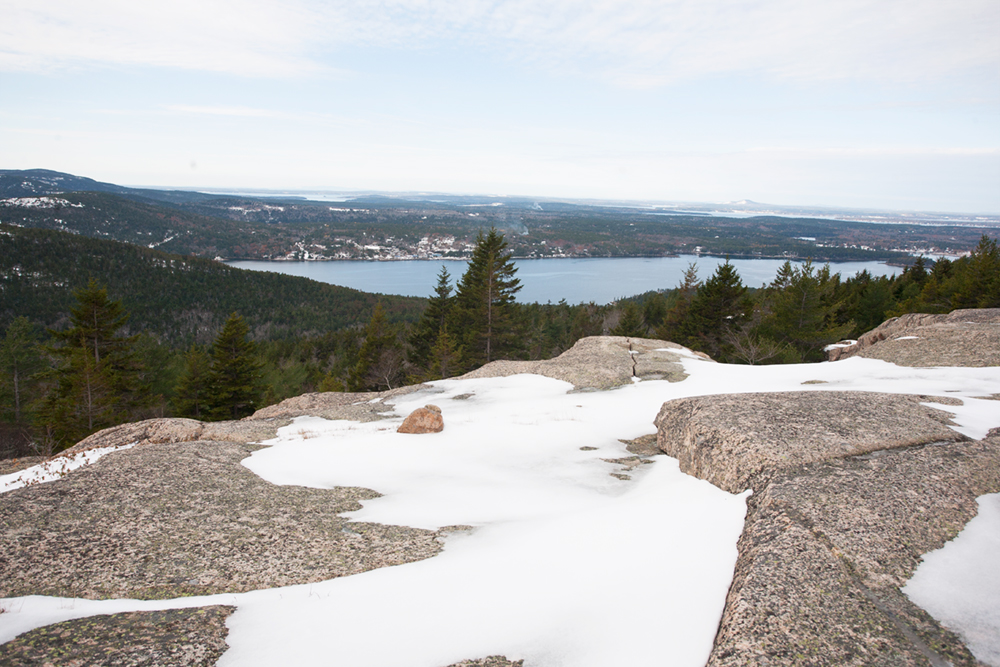 It was a really unique experience to see Acadia covered in snow. Most park visitors come in the Summer and Fall to catch the changing of the leaves. We spent over 12 hours hiking around the park and only saw two people and their dog. Just the way we like it!