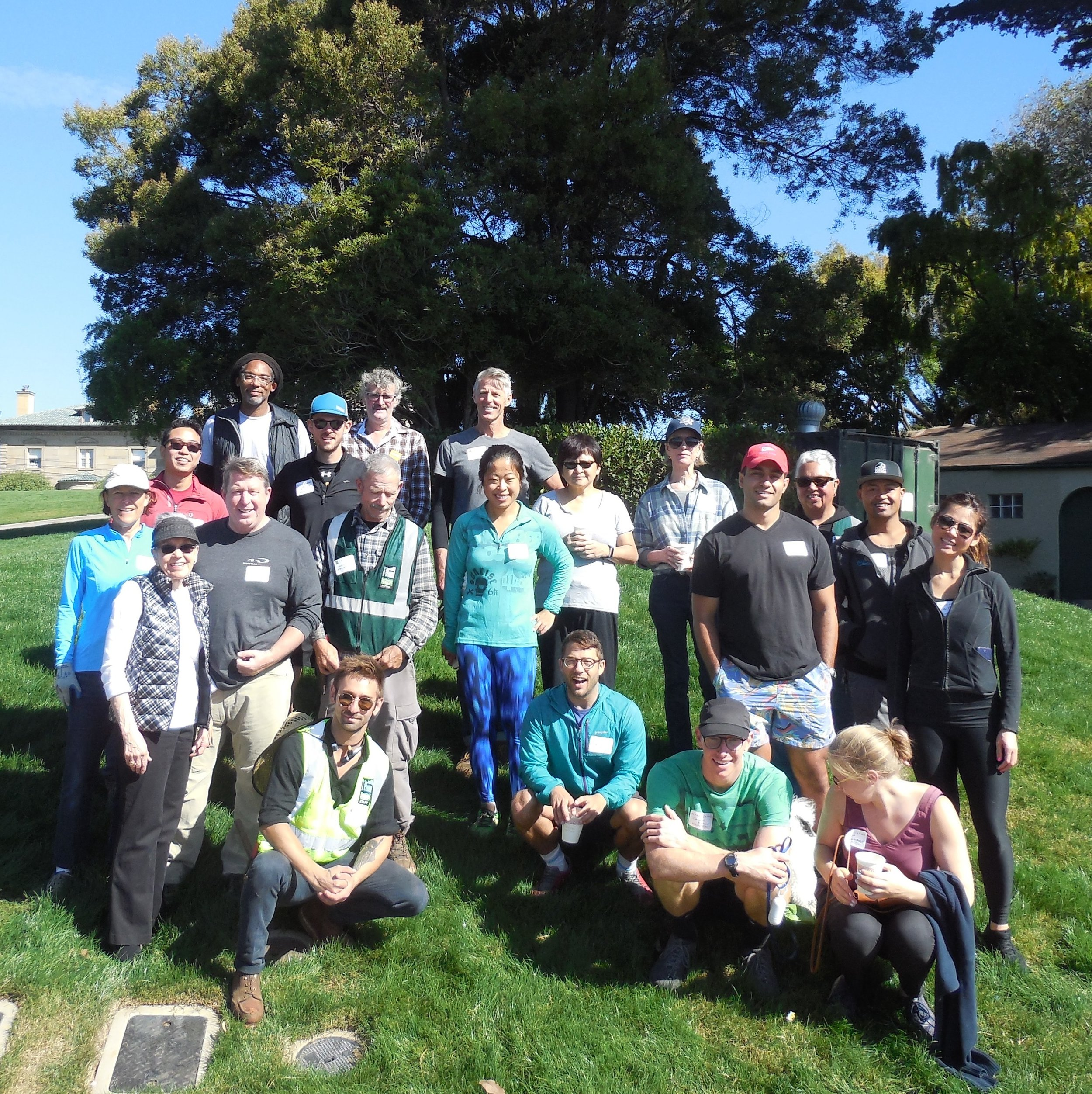 Friends of Alta Plaza Park and a number of volunteers gathered for a quarterly clean-up day. - Saturday, September 8th, 2018