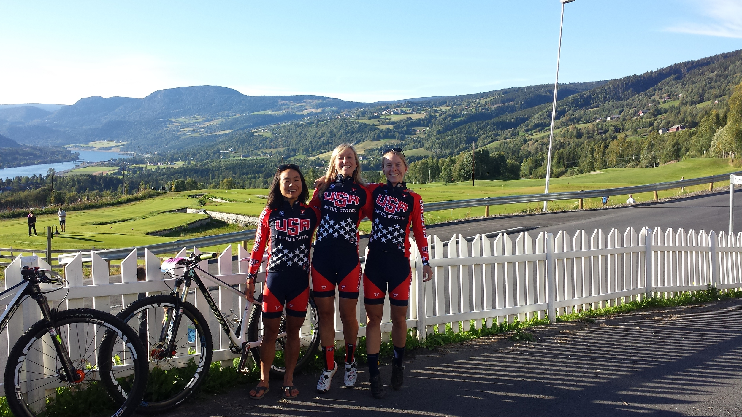 Photo: Hafjell, Norway  I spent quite a bit of time traveling with Erin Huck and Evelyn Dong this year. We all pushed ourselves to the limit and it paid off. I'm happy to see these two continue their careers with Sho-Air/Cannondale (Evelyn) and Scott 3Rox (Erin).