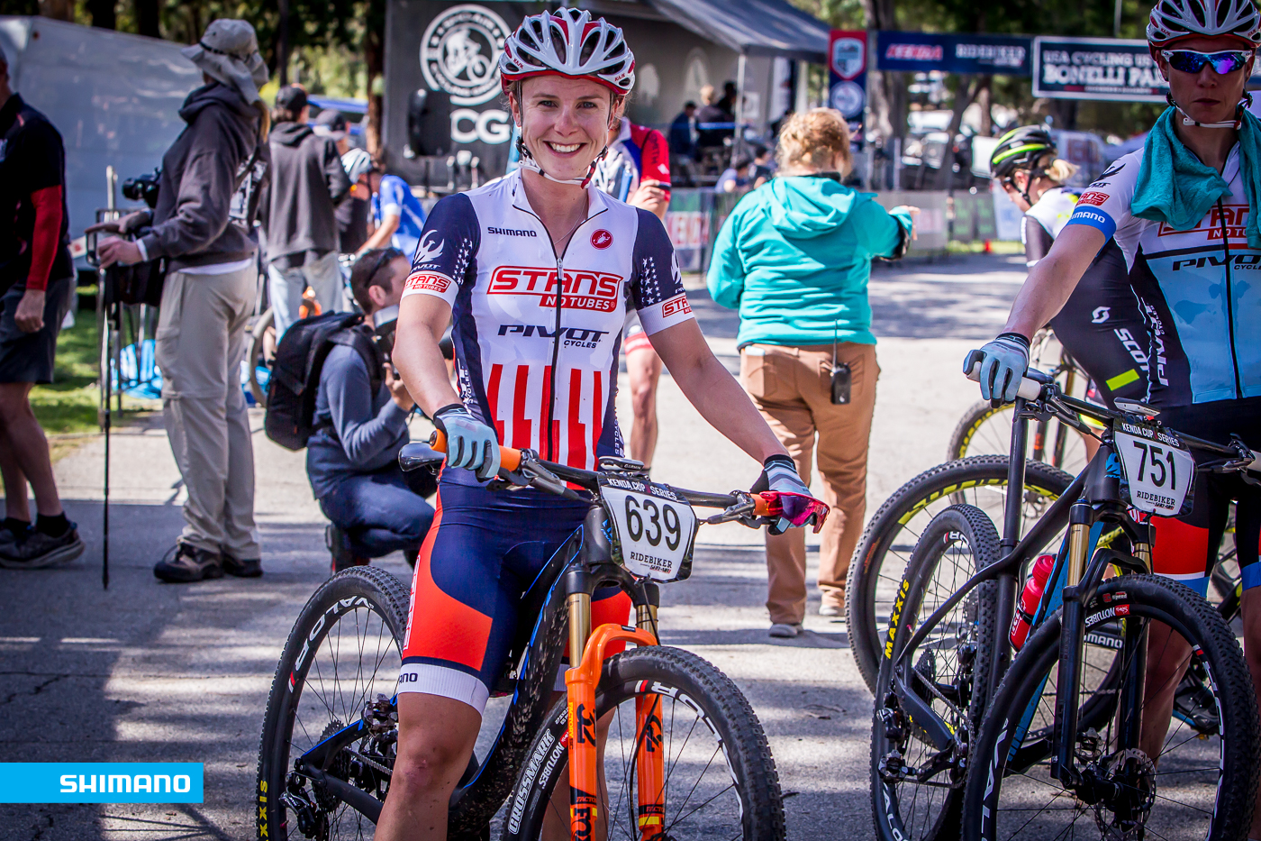 First race in the new Stars & Stripes kit! Photo: Joe Lawill