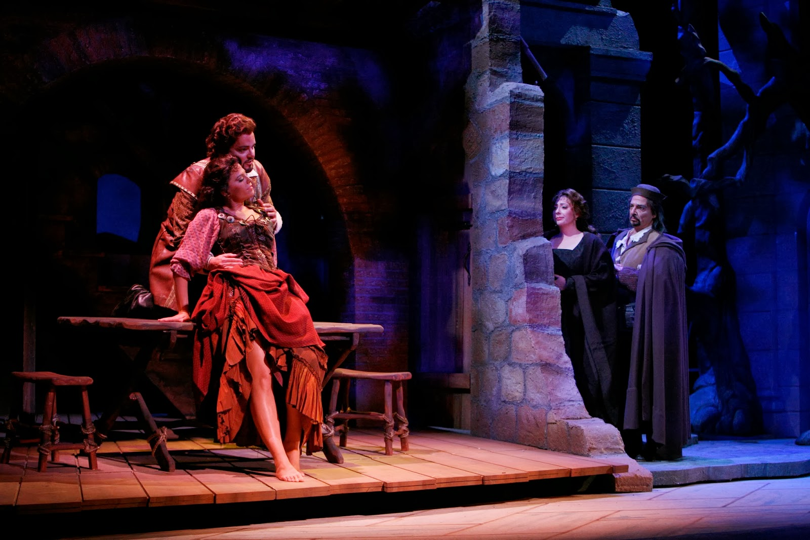 Maddalena in Rigoletto at Sarasota Opera