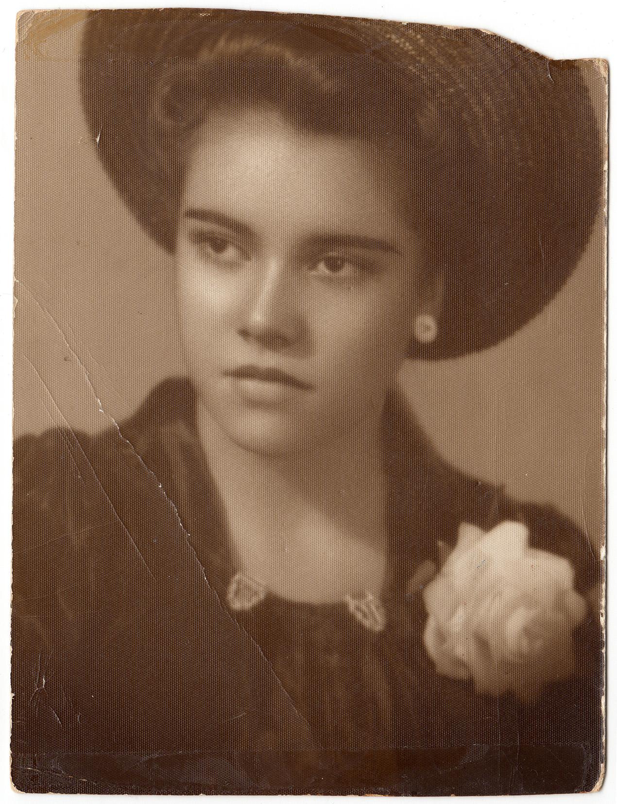 Susana Dominguez, Oscar's grandmother, who wrote the song, Te Quiero Tanto.
