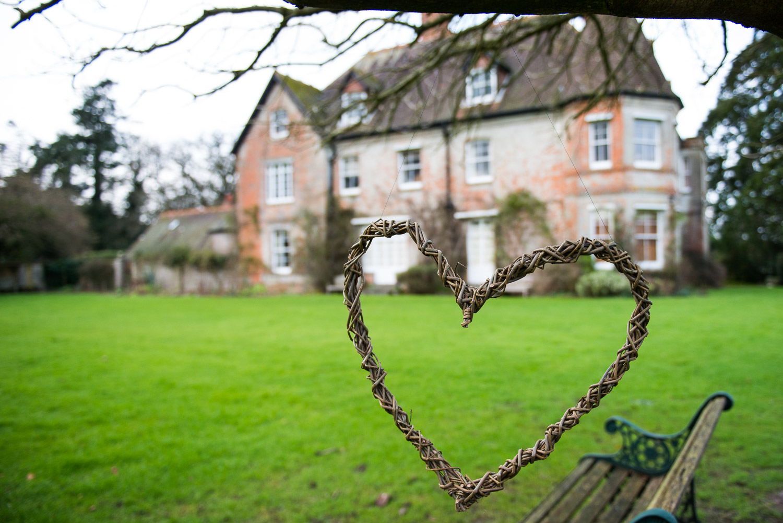 The heart is by our wonderful village willow weaver l ynne@lynnesaunders.co.uk