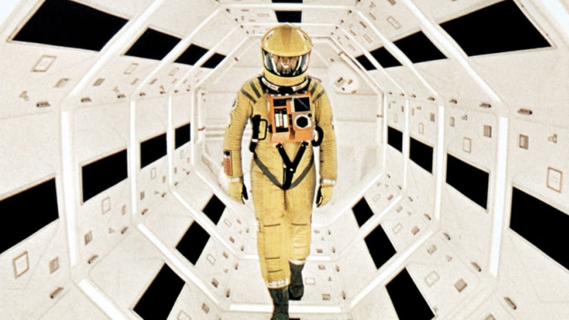 still from 2001: a space odyssey. my favorite film.
