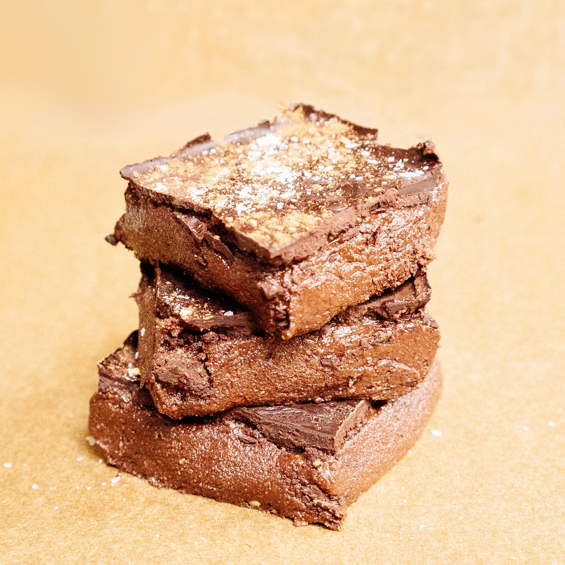 raw keto hemp seed brownies - gluten free, vegan, keto