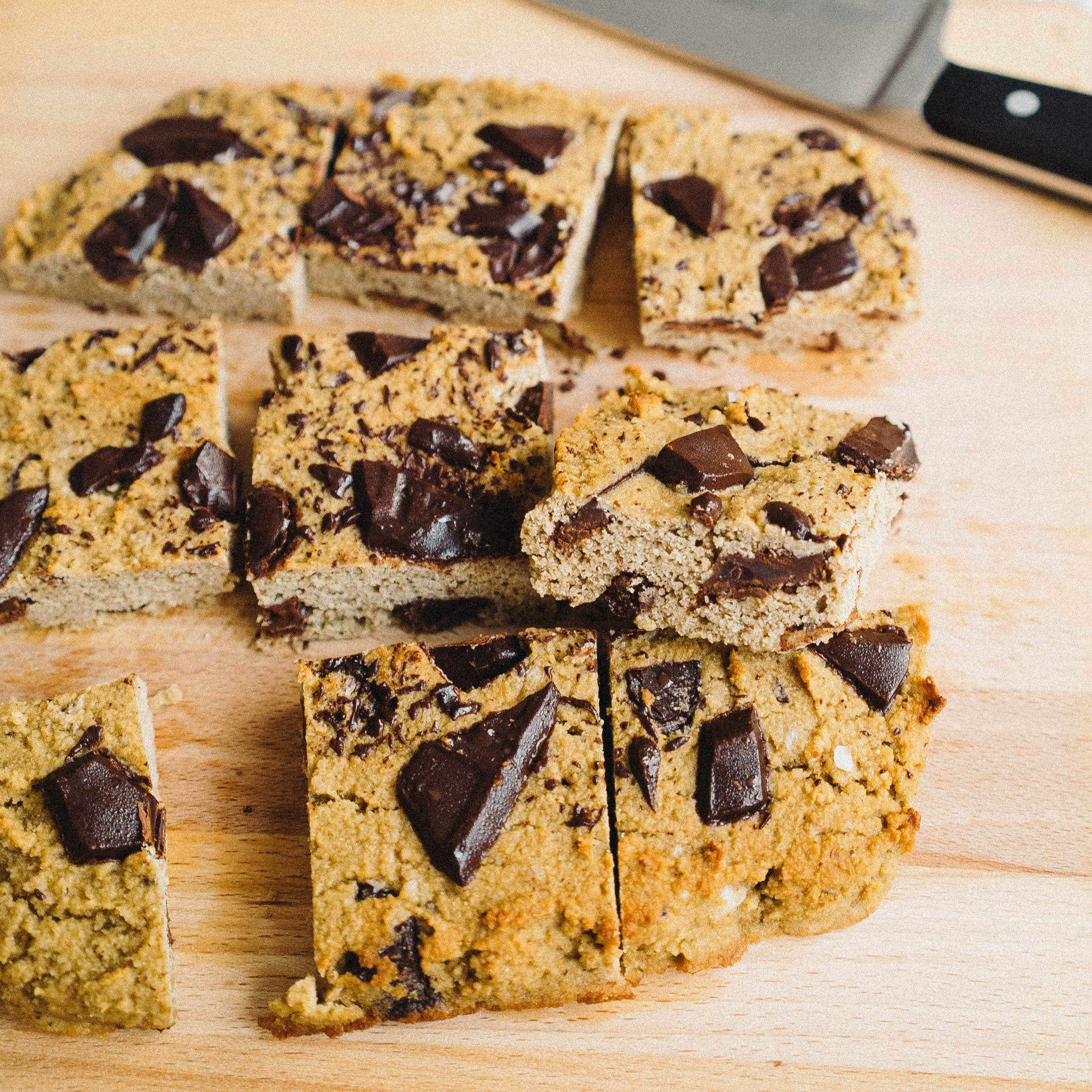 super healthy blondies - gluten free, low carb, aip
